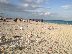 Miami Beach Trashed