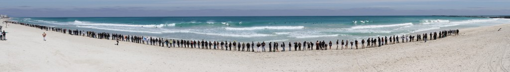Hands Across the Sand by Lou